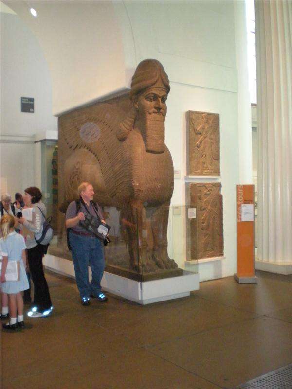 Sphinx, British Museum - 19th May