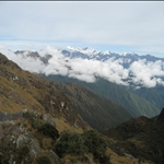 View of the Andes