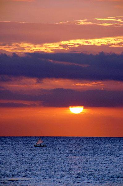 Sunset on Dreamland, Bali