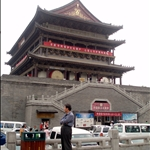 The Drum Tower of Xian, built in 1380.