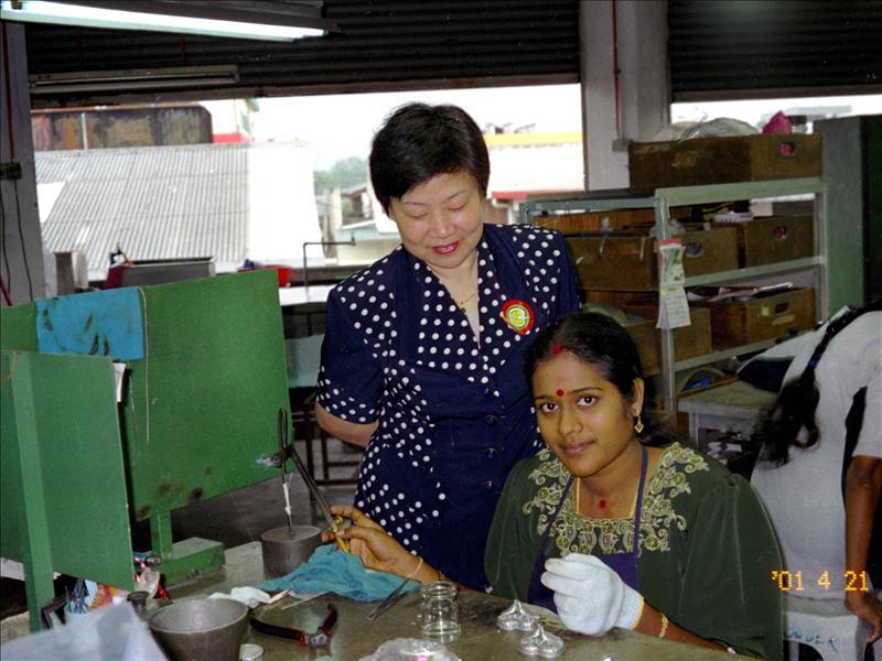 马来西亚、锡器工厂