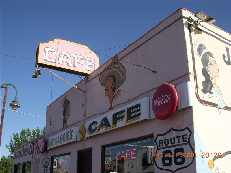 This is where we ate breakfast.  It has been here since 1924