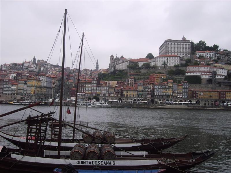 Vista desde Vila Nova de Gaia