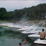 a boat ride on the Lake of the Ozarks 2002 from prints