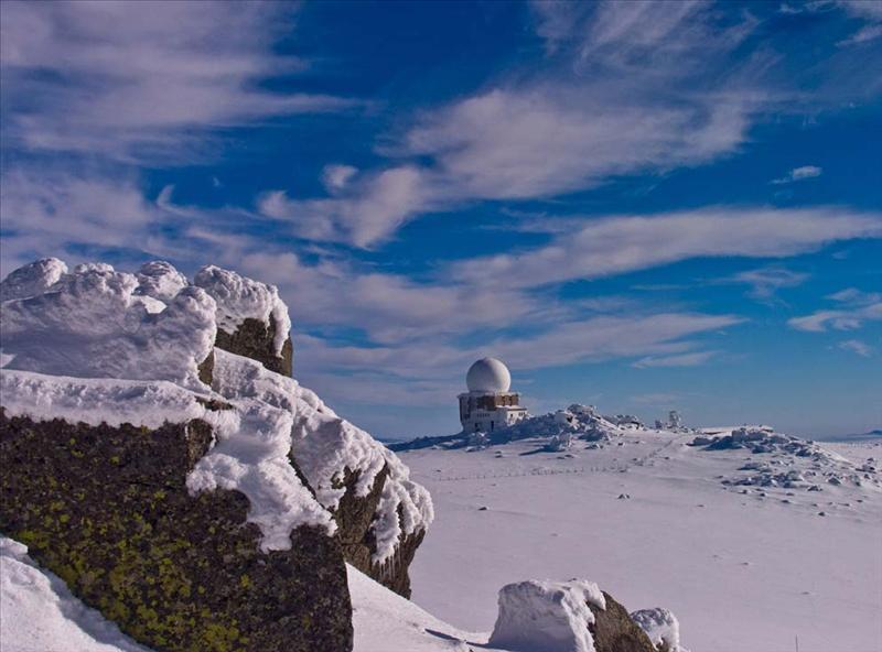 "Last autumnal day, Bulgaria, mountain Vitosha, Cherni Vrah (""Black Peak"")"