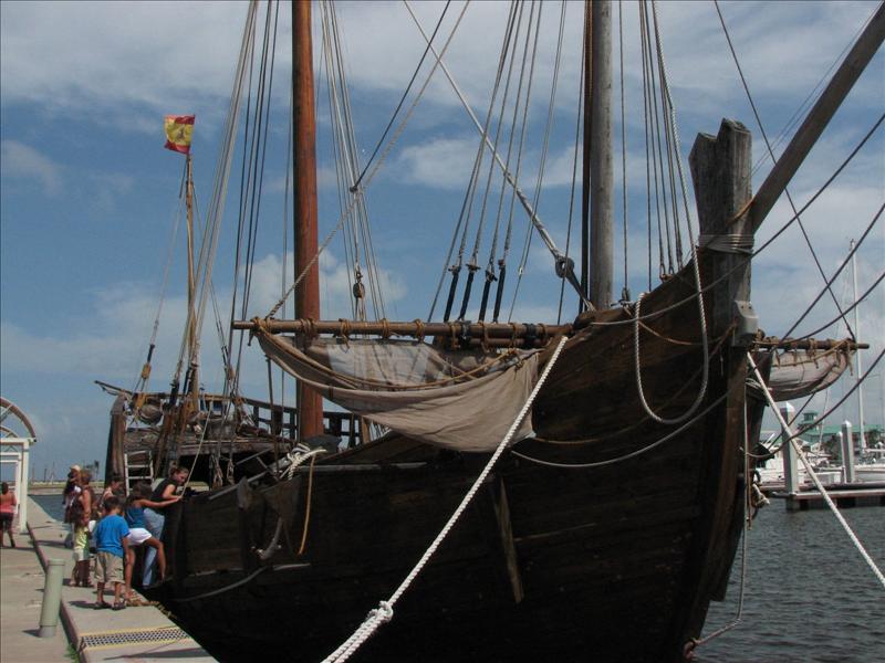 Columbus's Nina Ship