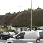 Adare is called the prettiest/most picturesque village in Ireland...gotta love the thatch roofs