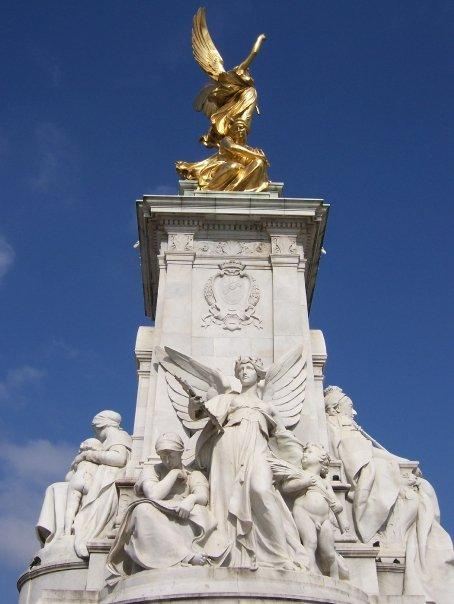 The Queen Victoria Monument.