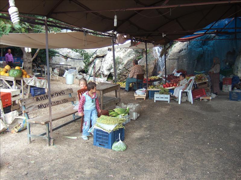 Roadside Market near Arykanda
