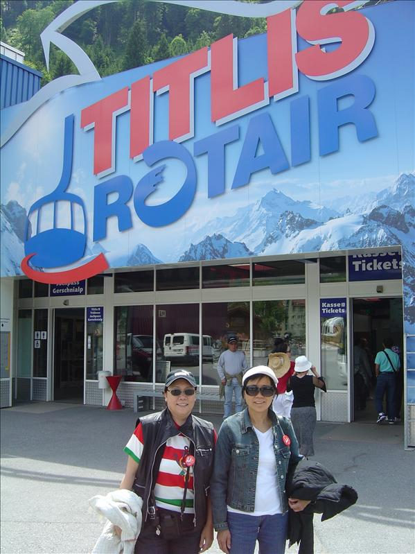 Mt. Titlis,Engelberg In Lucerne Switzerland