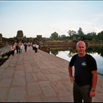 tim at angkor wat