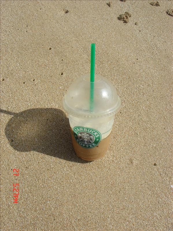 starbucks on the beach?
