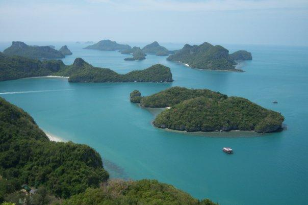 KO WUA TALAP, ANG THONG NATIONAL MARINE PARK - THE IDYLLIC TROPICAL ISLAND VIEW