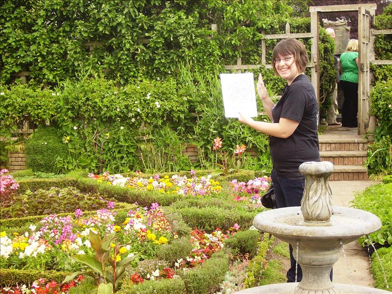 Ash's picture with the garden
