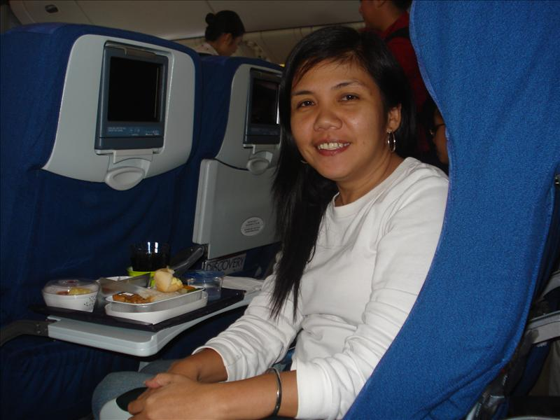 Aboard Cathay Air Ways