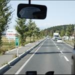 日本的公路車道比台灣窄