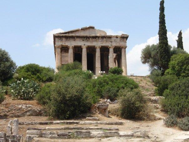 temple of hephaestus again.