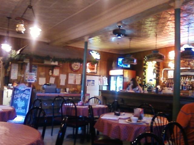 casual dining near the bar