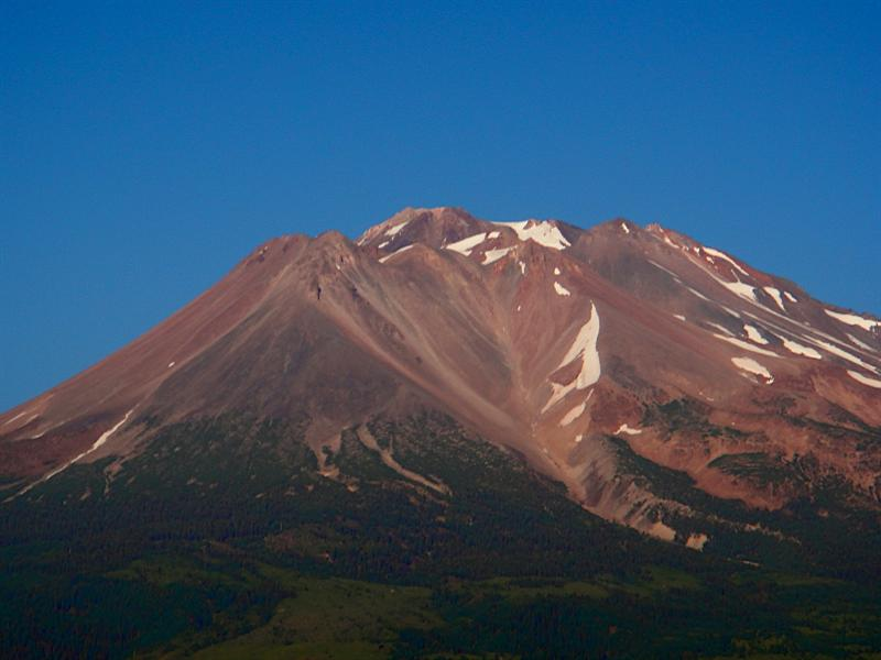 Beautiful Mt. Shasta. I didn't have time to spend any time there, but I will return one day soon!