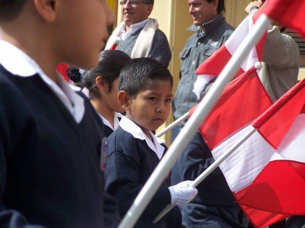 Desfile, Dia del profesor