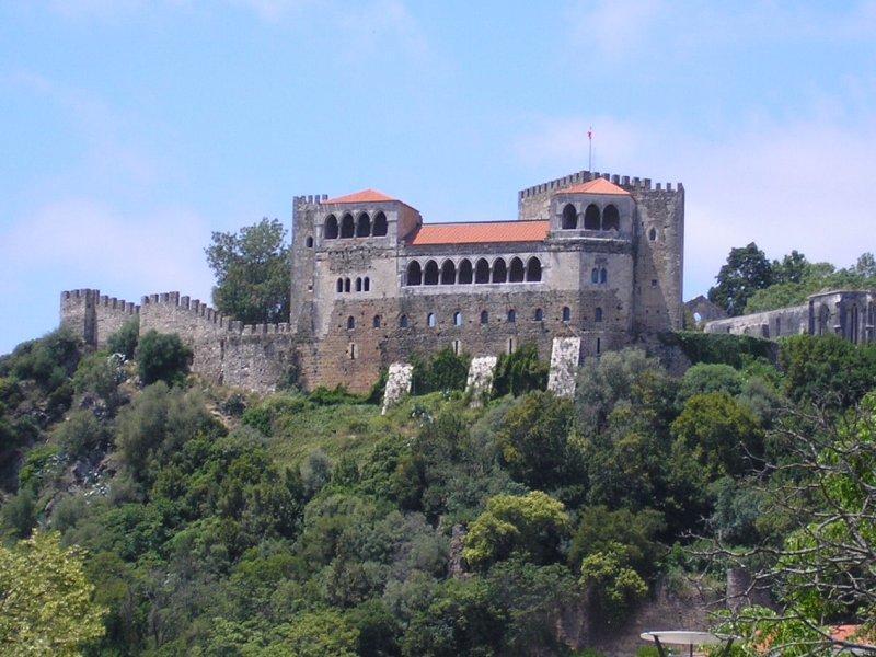Castle at Leiria....