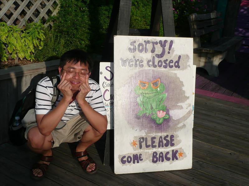 Cedar Key - 好吃餐廳居然沒開!!!