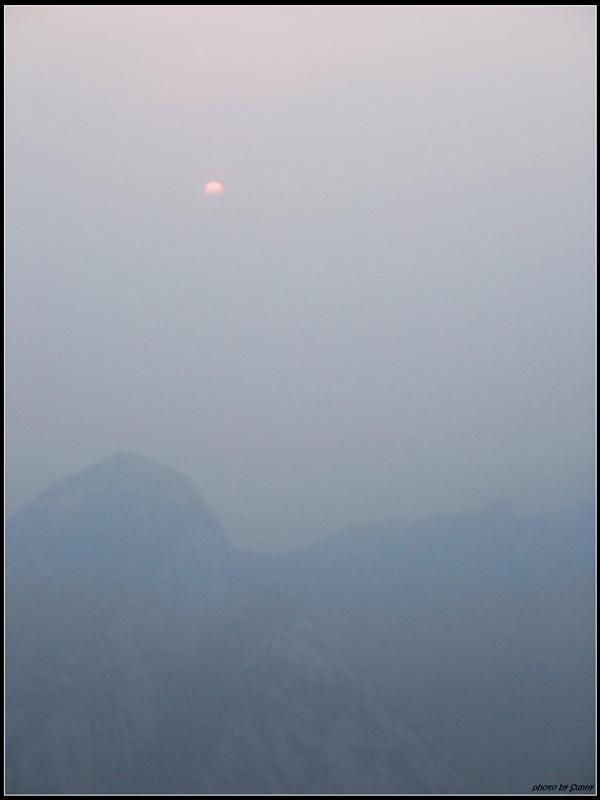 太陽終於露臉