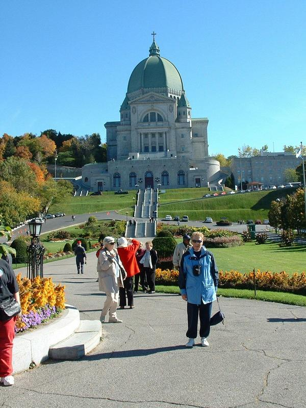 Mom,tour of Montreal,Quebec