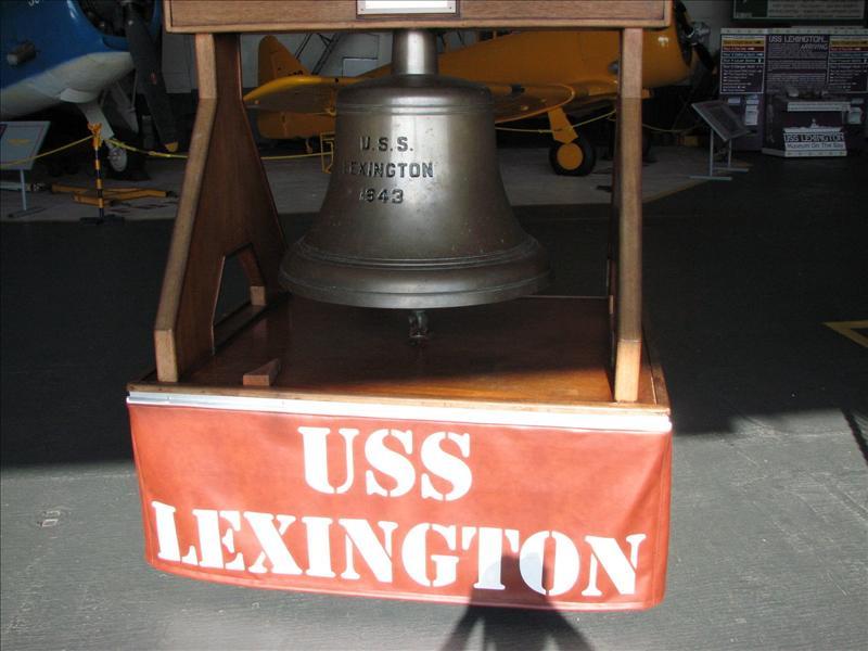 USS Lexington bell