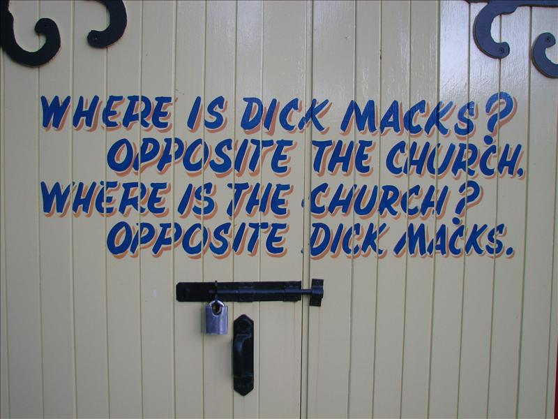 Dick Mack's is apparently an internationally known pub in Dingle