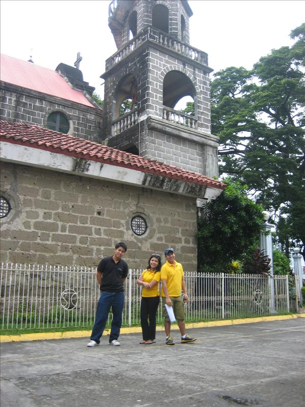 Calamba Church's Side View Photo...