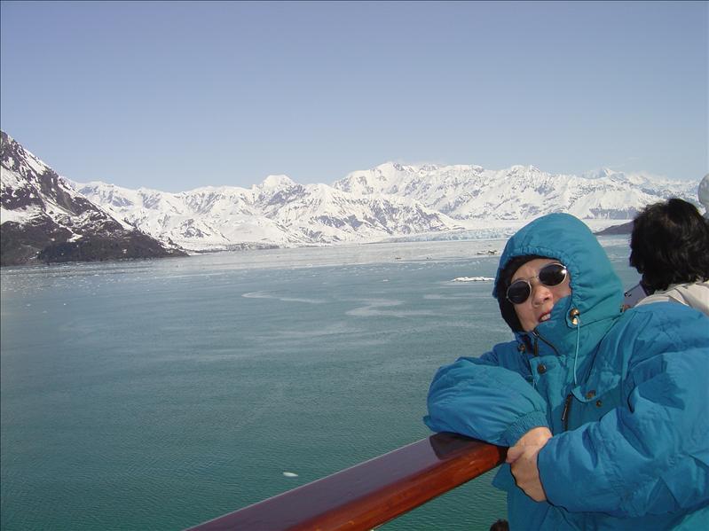 """Hubbard Glacier"" cruising"