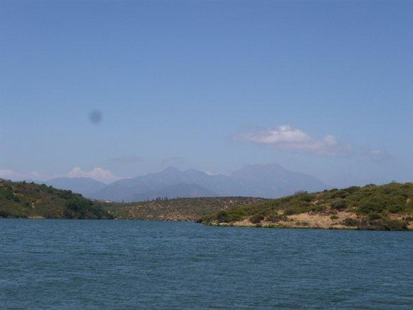 Vista of Lake Los Aromos
