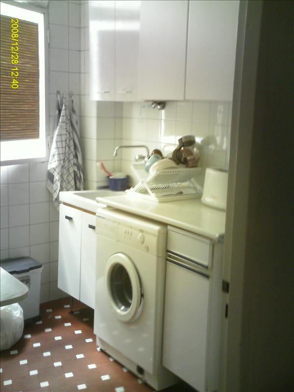 kitchen plus our washing machine built in