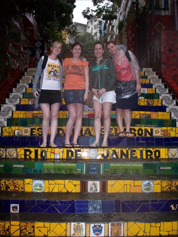 More Lapa Steps - Rio