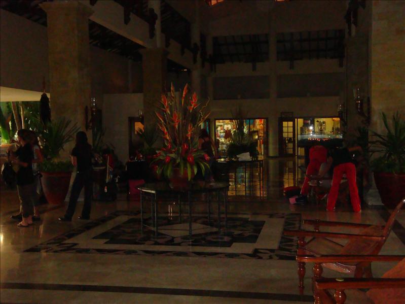 inside in hotel