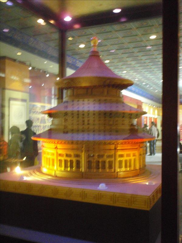 temple of heaven museum model