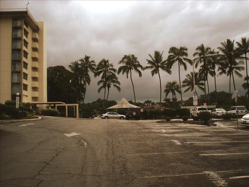 Hilo - Bad weather