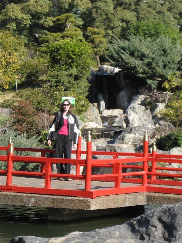 Waterfall in  Japanese Gardens