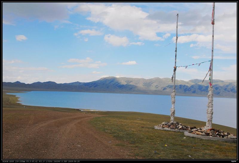塞里木湖,成吉思汗点将台