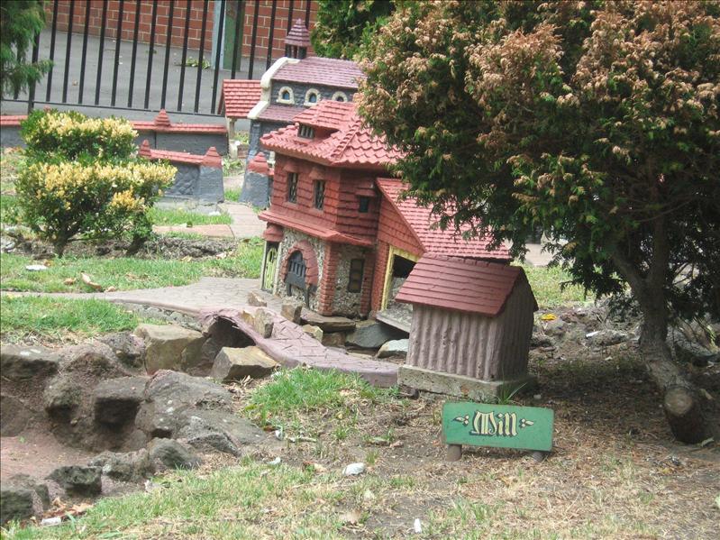 Minature Tudor Village