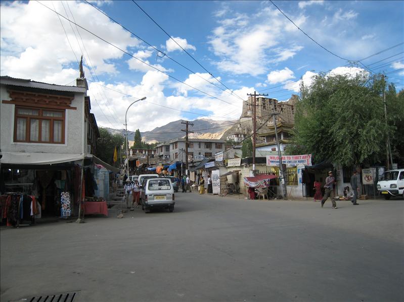 Leh - Central bazaar