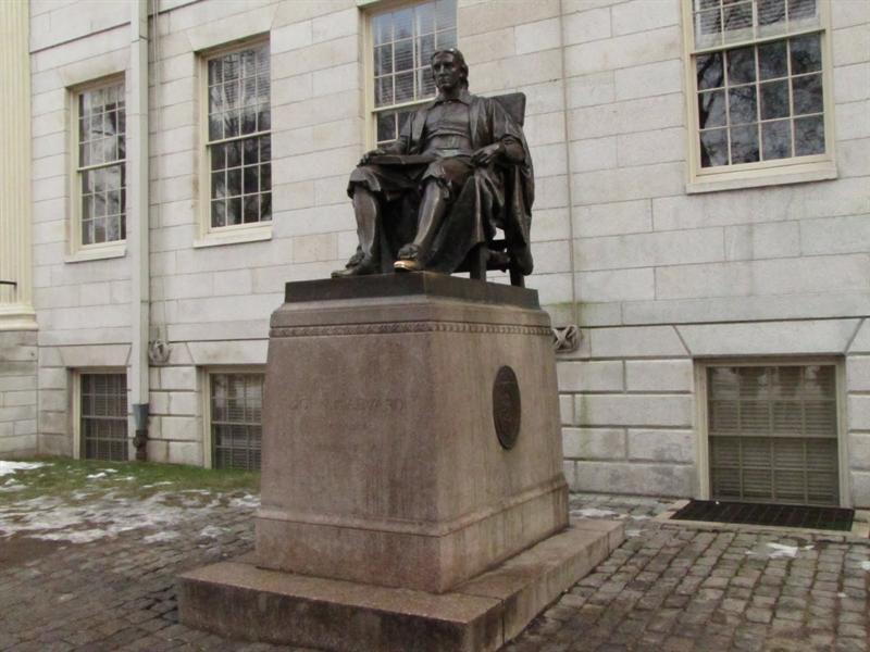 John Harvard, Harvard University, Boston, MA