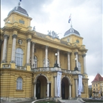 The Zagreb theatre. Isin
