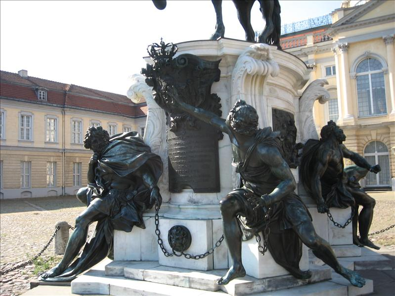 Charlottenburg sculptures