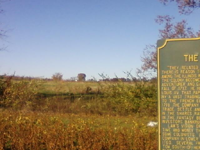 the land around the landmark