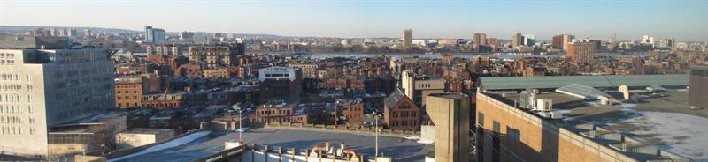 Charleston River Frozen, Boston, MA