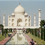 Taj Mahal,  Agra, India    oct2000