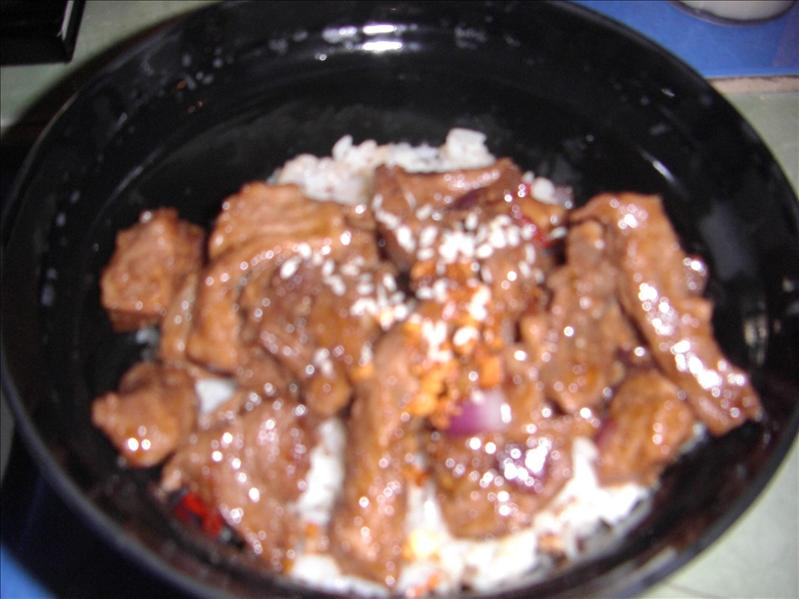 Beef Salpicao of Smoke - Yummy!!