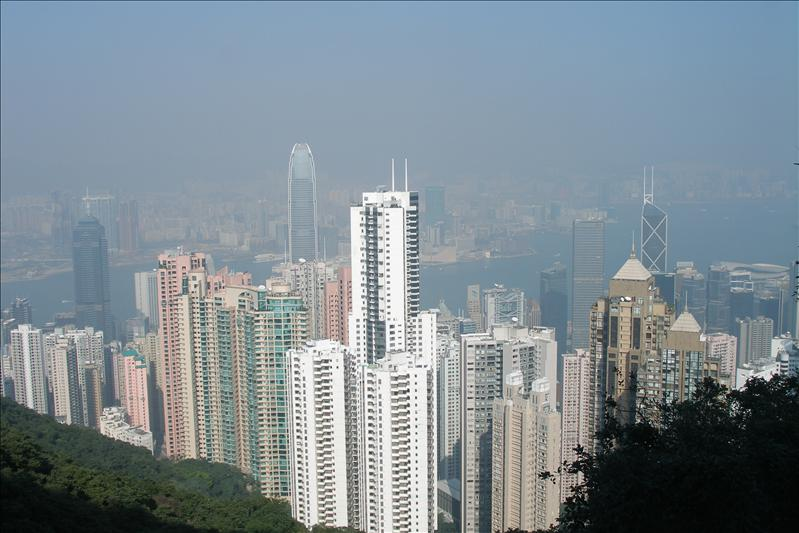 A view from the Peak